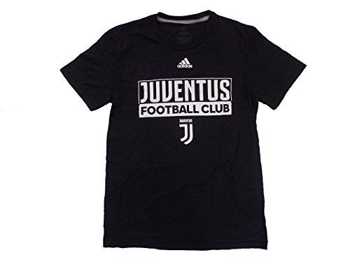- Juventus Men's Black Adi Box Performance T-Shirt X-Large