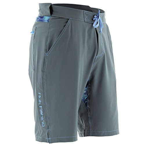 Huk Men's Next Level Board Short, Charcoal, Medium by Huk