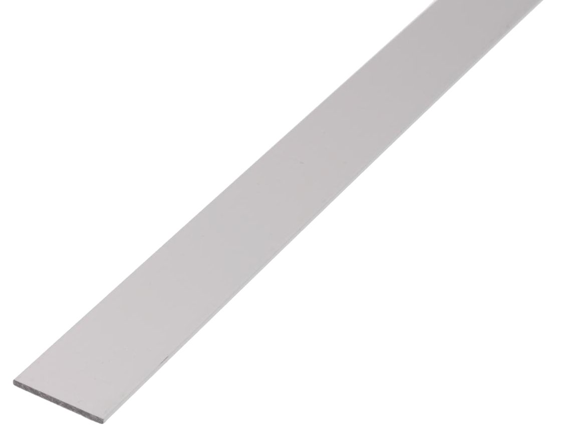 GAH-Alberts 469917 Flachstange 1000 x 40 x 3 mm natur Aluminium