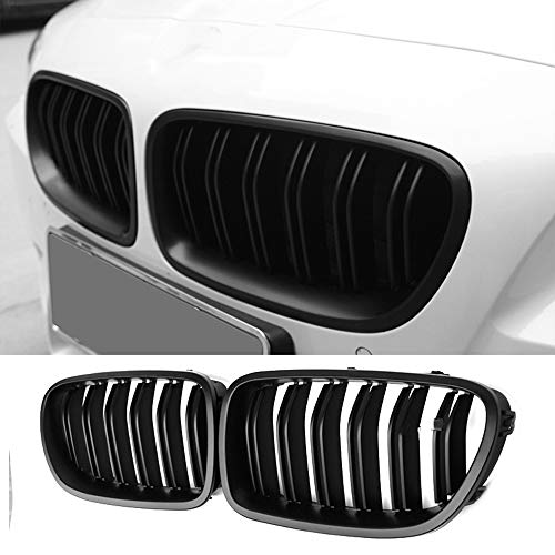 Zonsoon Front Grille/Grilles Kidney Grille Replacement for BMW 2010-2016 F10 5 Series 520i 523i 525i 528i 530i 535i 550i Glossy ()