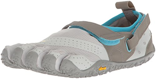 Vibram Women's V-Aqua Grey/Blue Water Shoe, 39 EU/7.5-8 M US B EU (39 EU/7.5-8 US US) ()