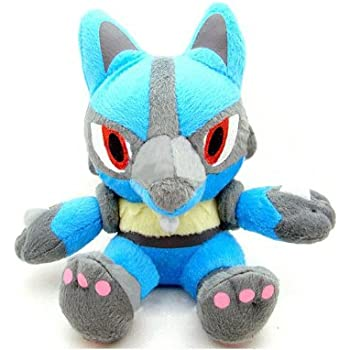 1 X Pokemon: 7-inch Lucario Plush Toy