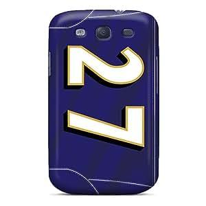 Samsung Galaxy S3 RTU10244VLuz Custom Nice Baltimore Ravens Image Great Hard Phone Covers -CharlesPoirier