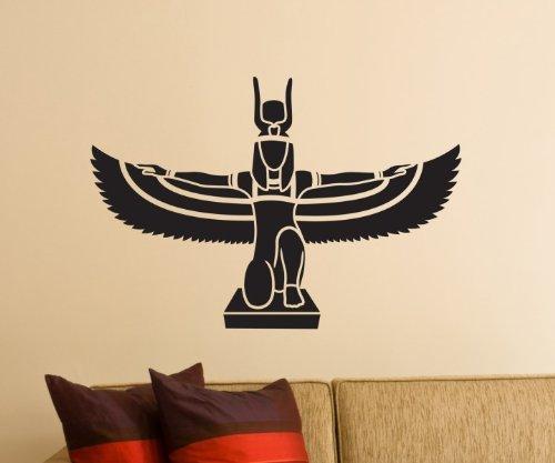 Pegatinas de Pared, Adhesivo Isis Egipto Diosa Tatuaje de Pared ...
