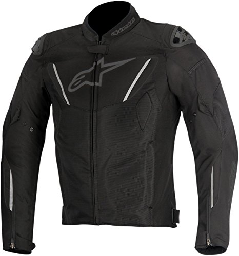 Alpinestars T-GP R Air Textile Men's Riding Jacket (Black, X-Large)