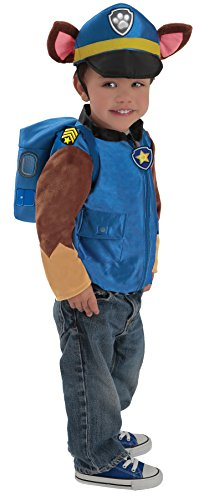 UHC Boy's Paw Patrol Chase Outfit Funny Theme Toddler Halloween Fancy Costume, Toddler XS (2-3T)