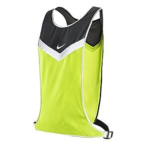 Nike Vividstrike Run Vest (S/M, Cool Grey/Volt/Sliver)