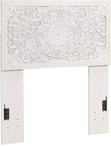 Signature Design By Ashley - Paxberry Twin Panel Headboard - Whitewash