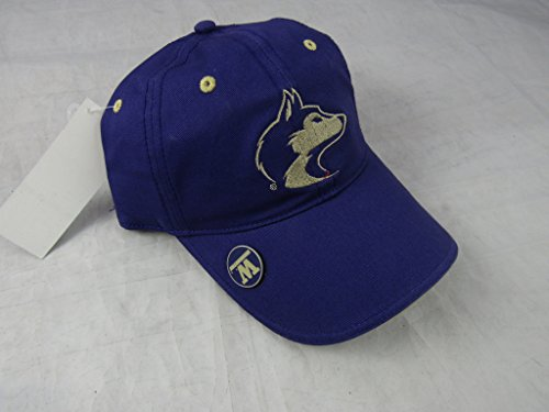 PAC GOLF Hat Cap with Magnetized Ballmark Ball Marker WASHINGTON HUSKIES Mascot (Washington Husky Mascot)