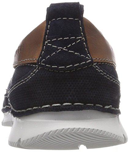 Bugatti Men's 321467606914 Loafers, 1515-Grey-Grey Blue (Dark Blue / Dark Blue 4141)