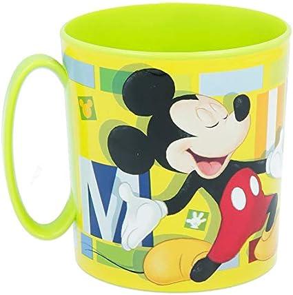 2667; Taza microondas Disney Mickey Mouse; capacidad 350 ml; producto de plástico; No BPA