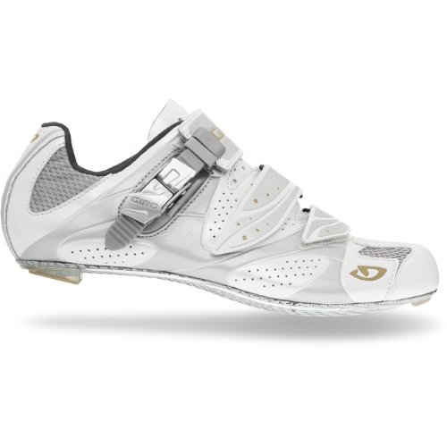 Giro 2013 Women's Espada Road Bike Shoes (White/Silver - 39)