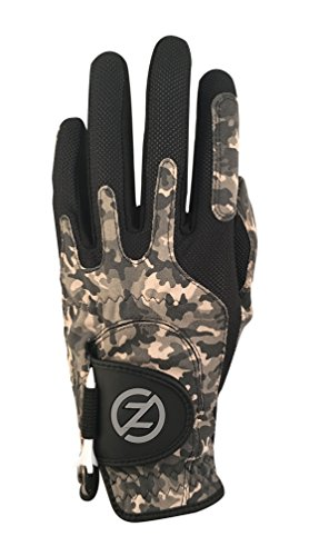 Zero Friction Men's Synthetic Golf Glove, Night Camouflage, Left Hand, One ()