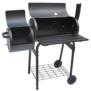 Scotrade New Tennessee - Ahumador de carbón vegetal y barbacoa de acero inoxidable con impresionantes comidas