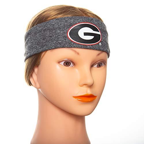 Georgia Headband - Georgia Bulldogs Running Headband - Unisex Headbands for Women and Headbands for Men. Non Slip Fabric Keeps Sweat at Bay During Any Workout