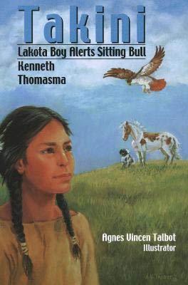 Takini Lakota Boy Alerts Sitting Bull from Brand: Grandview