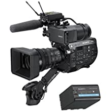 Sony PXW-FS7 II 4K XDCAM Super 35 Camcorder Kit with 18-110mm Zoom Lens - With Sony BPU60 Rechargeable Lithium-ion 56Wh Battery Pack