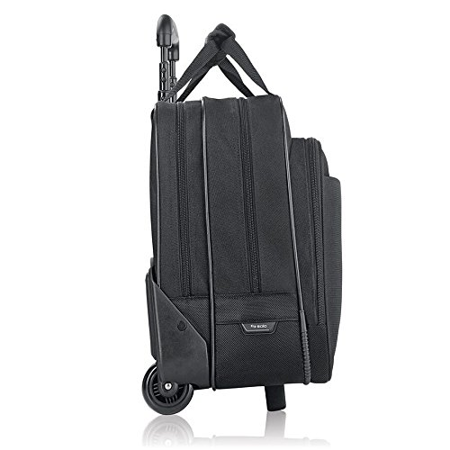 Solo Empire 17.3 Inch Rolling Laptop Case, Black by SOLO (Image #1)