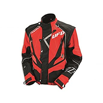 433215 X L - Chaqueta Ufo Enduro Rojo T. Xl: Amazon.es ...