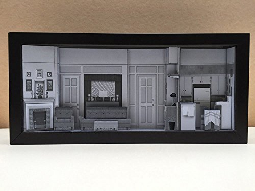 I Love Lucy Apartment set shadowbox diorama - memorabilia picture art collector ()