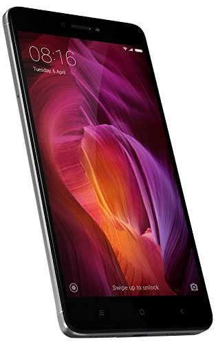 Xiaomi Redmi Note 4 Mobile Phone, 32 GB Dual SIM Grey