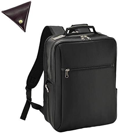メンズ バッグ 2way 2室式 ビジネスリュック と [BLANZAY 本革高級コインケース]のセット BH42567