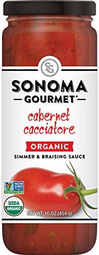 Sonoma Gourmet, Cabernet Cacciatore, Quantity - 1 case (pack of 6) by Sonoma Gourmet