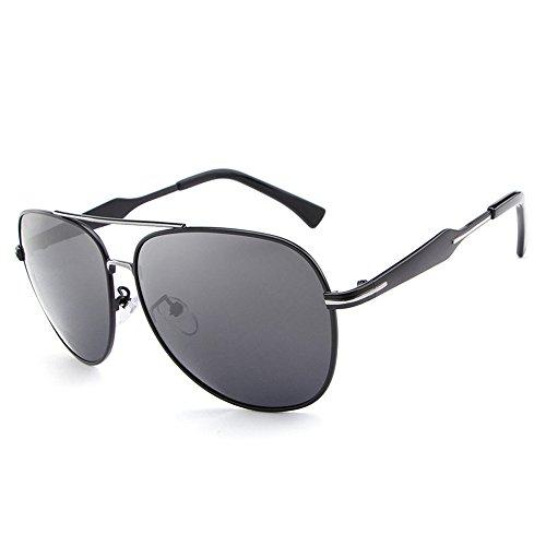 libre sol aire personalidad del de de gafas Shing conducen de libre anti aire de sol moda al gafas de de de color marco RFVBNM al gafas brillante polarizadas negro Hombres que negro ULTRAVIOLETA sol 6SqxHqRp