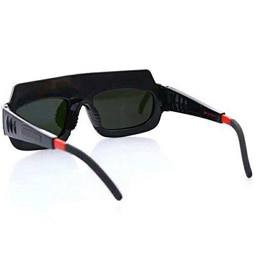 Welding Goggles Zinnor Welding Glasses Mask Lens Helmet Auto Darkening Solar Powered Anti-scraping Welder Glasses Arc PC Lens For Welding Protection by Zinnor (Image #2)