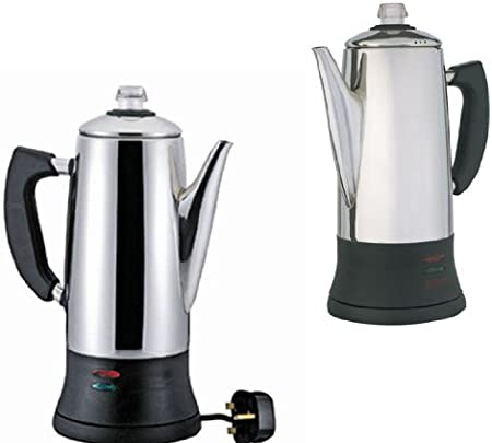Good Ideas Best Selling Electric 12 Cup Stainless Steel Coffee Percolator 18l Coffeemaker 1246 Makes Delicious Perfectly Brewed Coffee Anytime