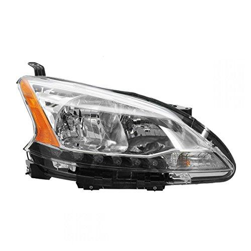 Headlight Headlamp Halogen RH Right Passenger Side for 13 Nissan Sentra