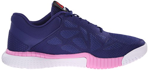 Reebok Women's Zprint Training Shoe Night Beacon/Collegiate Navy/Icono Pink/White Rn7PJI