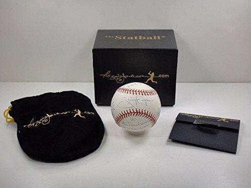Tony Gwynn Autographed Baseball - Statball Stat W 14 Inscriptions Rj com - Autographed (Tony Gwynn Autographed Baseball)