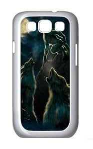 3 Werewolf Moon Polycarbonate Hard Case Cover for Samsung Galaxy S3/Samsung Galaxy I9300 White Kimberly Kurzendoerfer