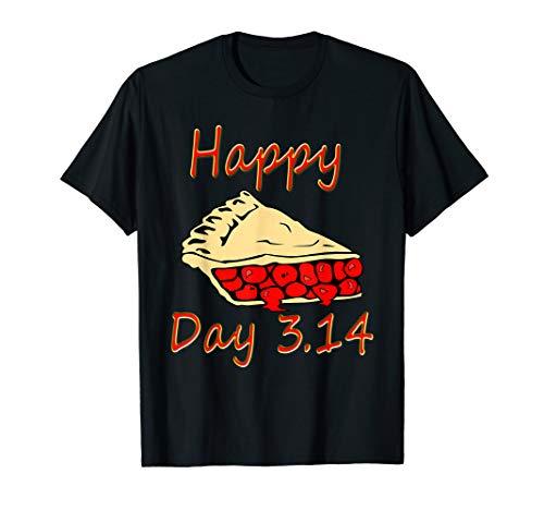 (Happy Pi Day 3.14 2019 Cherry Pie Funny Math Gift T-Shirt)