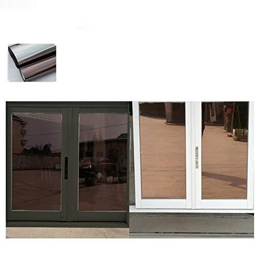 JIA-WALK Mirror Solar Tint Film Window Stickers Glass Sticker UV Reflective Insulation -