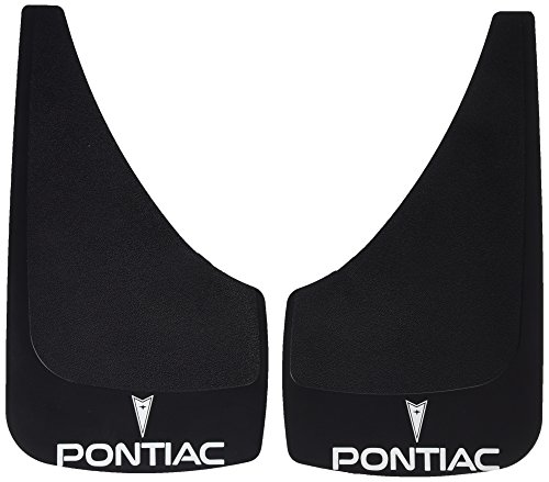 highland-1028700-black-pontiac-logo-molded-splash-guard-2-piece