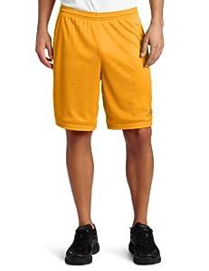Champion Men's Long Mesh Short With Pockets, Sun Gold, Medium