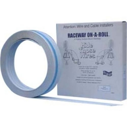 premiere-raceway-products-fwf-14511-raceway-on-a-roll-3-8-inch-50-foot-roll-white