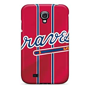 Tpu Case For Galaxy S4 With Atlanta Braves