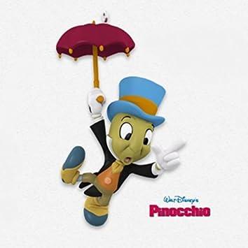 Amazoncom Disney Pinocchio Jiminy Cricket 2015 Hallmark Home