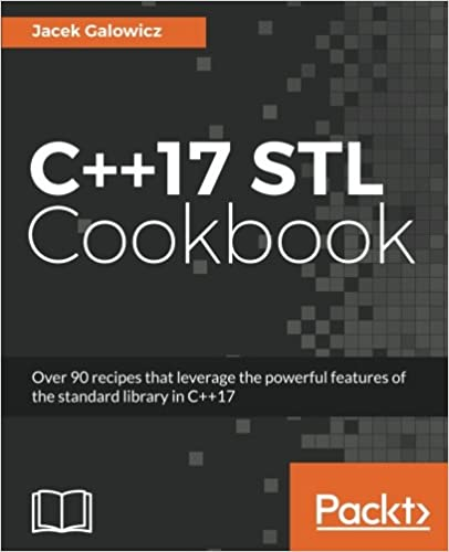 c++ 17 stl cookbook pdf