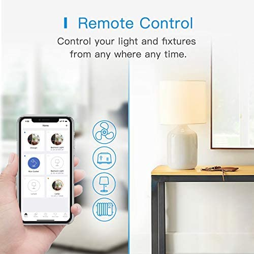Meross Smart Plug Dual WiFi Outlet Plug 2 In 1, Support Apple HomeKit, Siri, Alexa, Echo, Google Assistant, Nest Hub And SmartThings, Voice Control, Remote Control, Timer, No Hub Required, 1 Pack