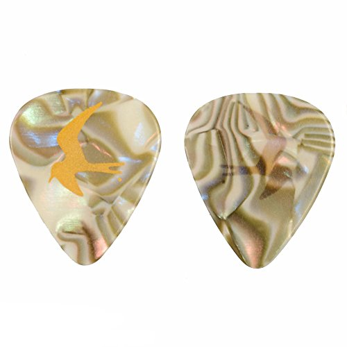 PRS Abalone Guitar Picks - Medium (Prs Guitar Picks)