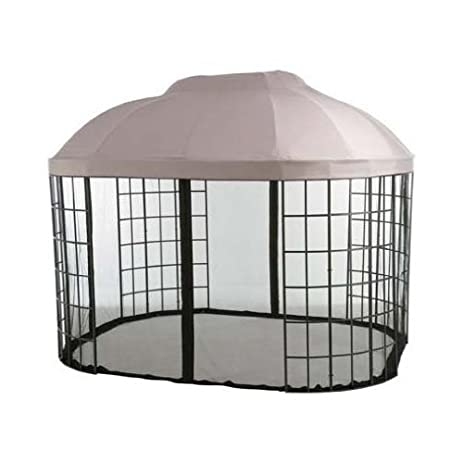 Garden Winds LCM457B RS Replacement Canopy With Riplock Technology For Pacific Casual Oval Dome Gazebo