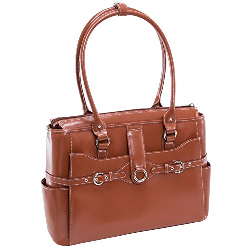 McKleinUSA 96564 Willow Springs Brown 15.6'' Leather Ladies' Briefcase by McKleinUSA