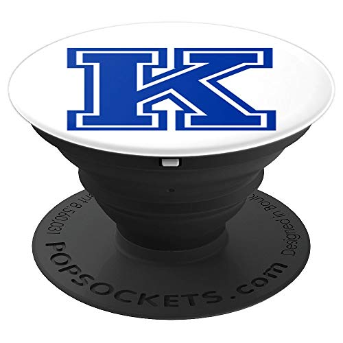 Letter K Socket Cool Adults Kids Christmas Gift - PopSockets Grip and Stand for Phones and Tablets
