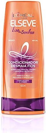 Condicionador Elseve Liso Dos Sonhos, 400Ml, L'Oréal P