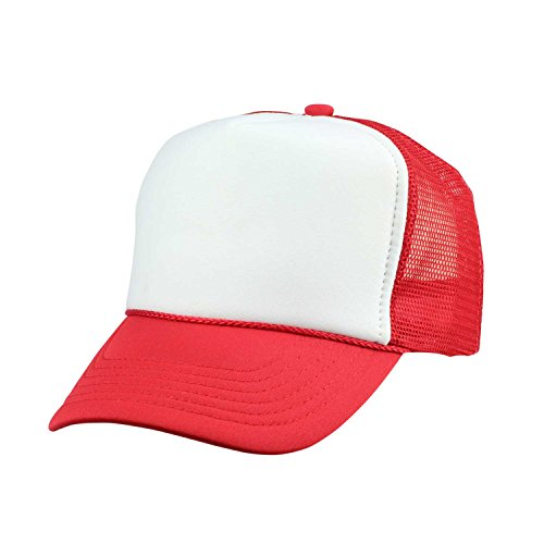 Youth Mesh Trucker Cap - Adjustable Hat (Comes in 8 Colors)