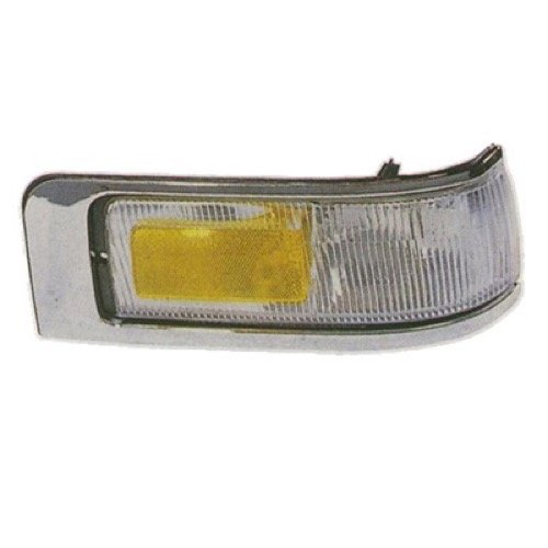 Go-Parts ª OE Replacement for 1995-1997 Lincoln Town Car Side Marker Light Assembly/Lens Cover - Front Left (Driver) Side F5VY 15A201 B FO2550132